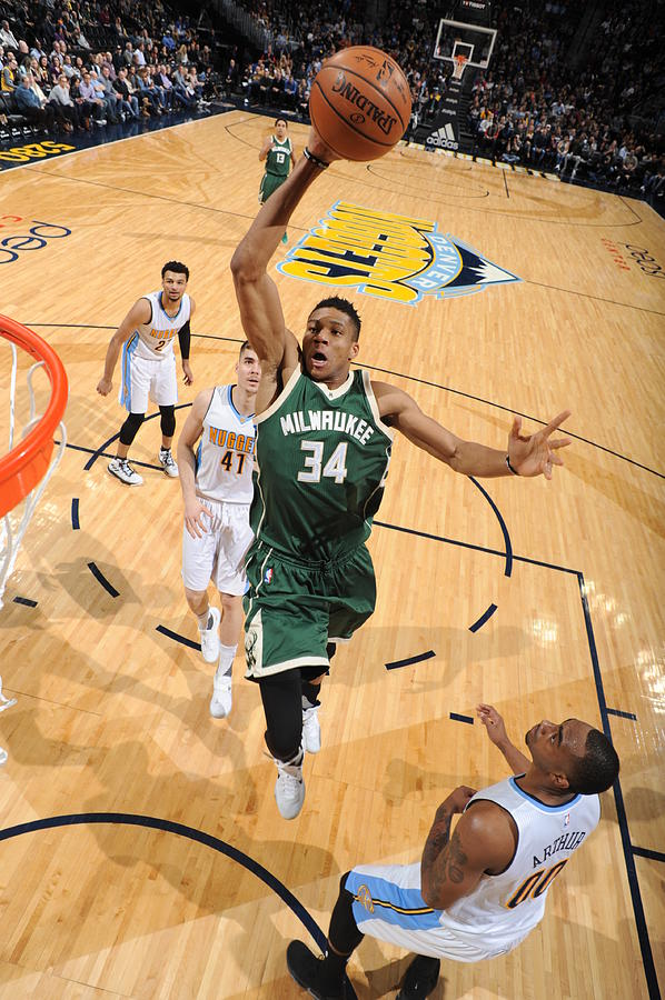 Giannis Antetokounmpo Photograph by Garrett Ellwood
