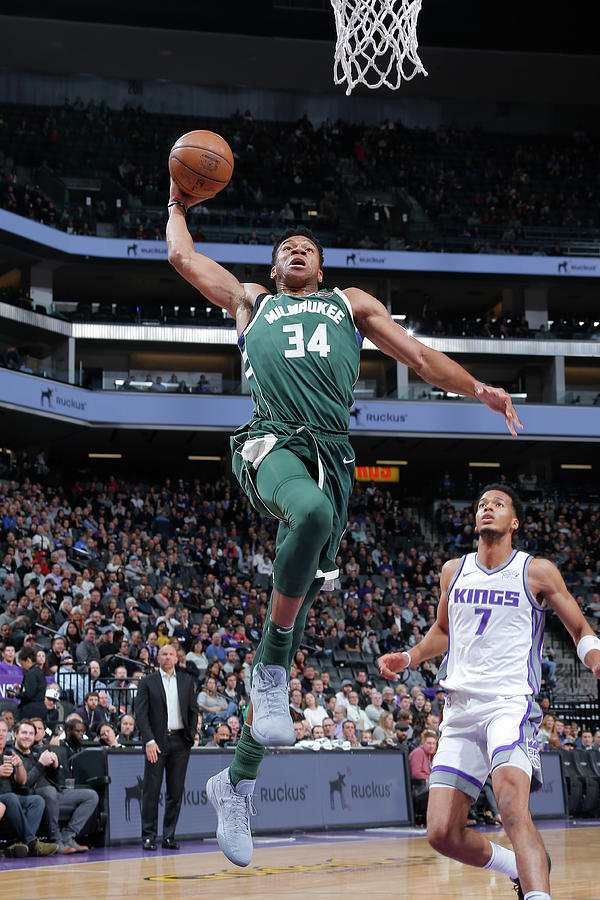 Giannis Antetokounmpo Photograph by Rocky Widner