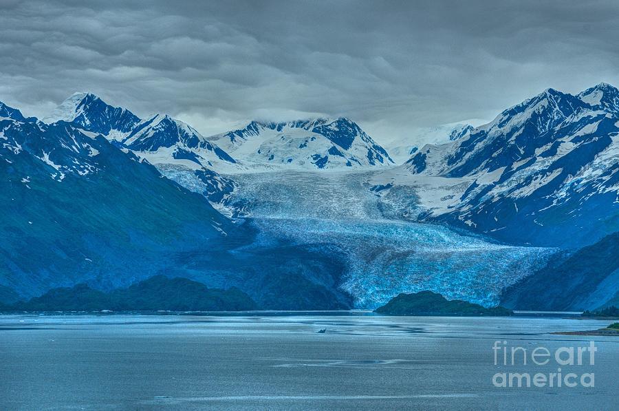 Glacier In Alaska Photograph