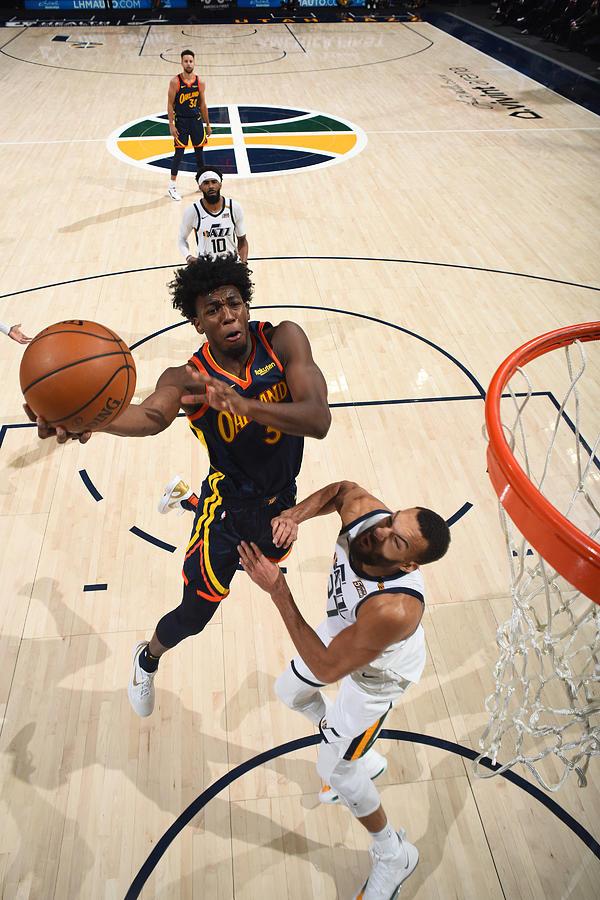 Golden State Warriors v Utah Jazz Photograph by Garrett Ellwood