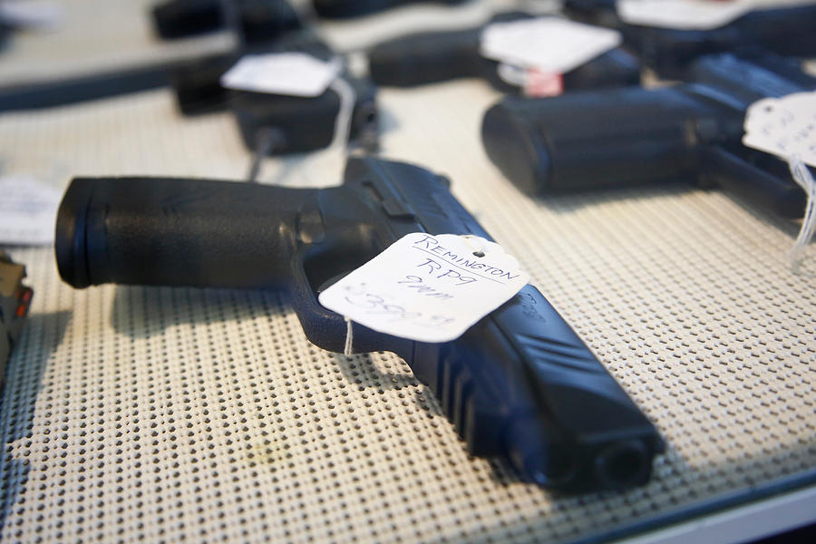 Gun Manufacturer Remington Files For Chapter 11 Bankruptcy Protection Photograph by Brian Blanco