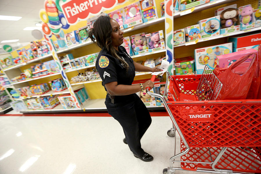 Hackers Grab 40 Million Accounts From Target Stores Photograph by Joe Raedle