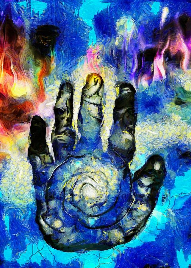 Hand Of Time Digital Art