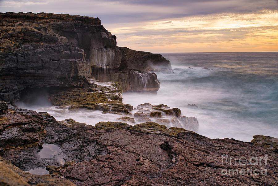 Hawaii Photograph - Hawaii Sunset by Kasra Rassouli