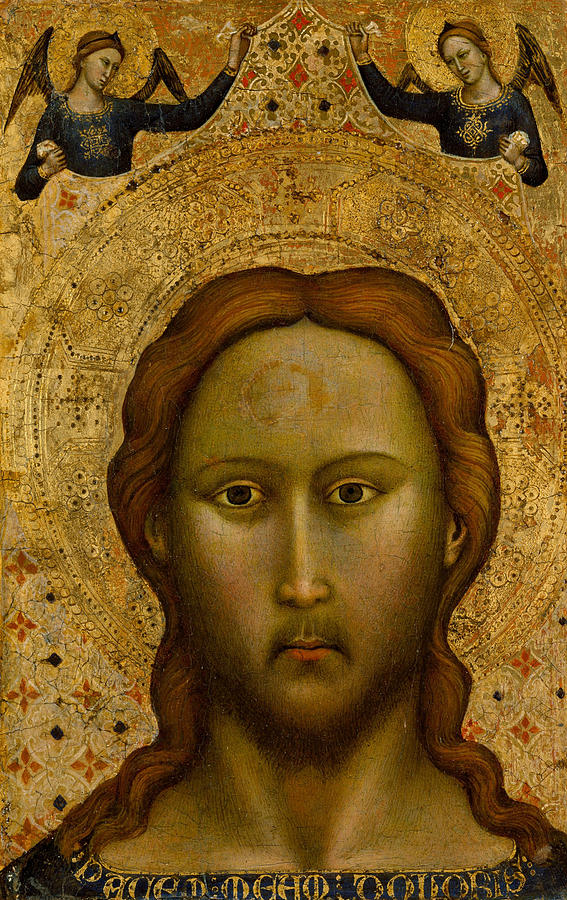 Head of Christ by Master of the Orcagnesque Misericordia