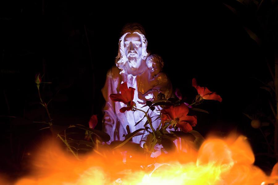 Hell Fire Photograph - Hell Fire by Jason Turuc