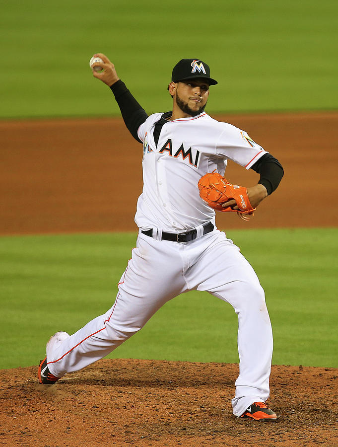 Henderson Alvarez Photograph by Mike Ehrmann