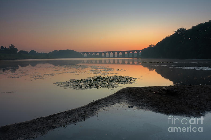 Hewenden Reservoir At Dawn Photograph