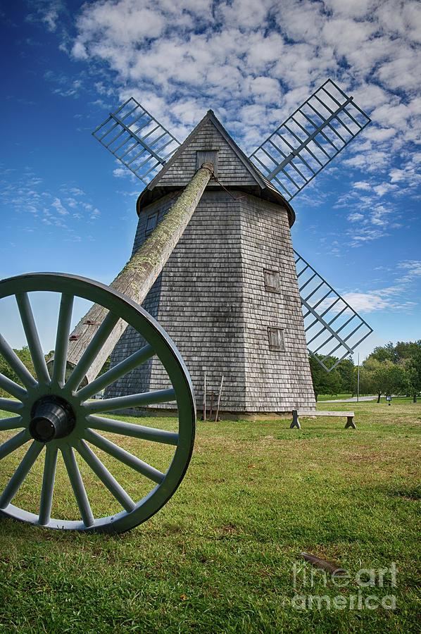 Higgins Farm Windmill Photograph