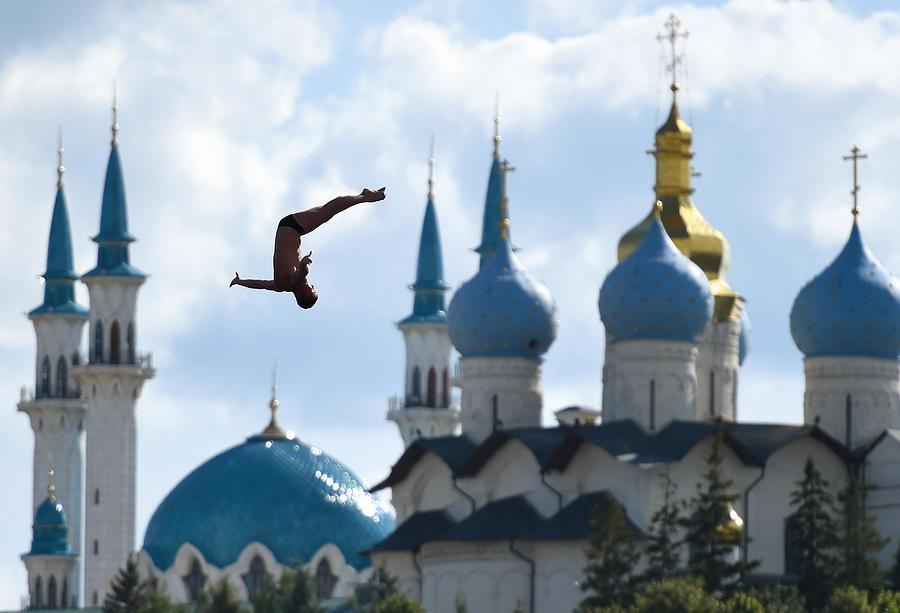 High Diving - 16th FINA World Championships: Day Ten Photograph by Matthias Hangst