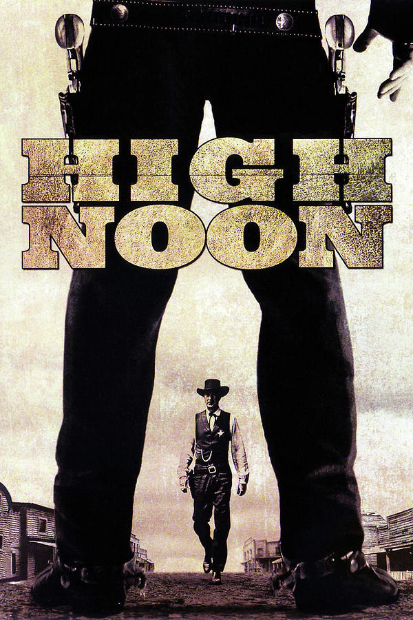 high Noon Movie Poster 1952 Mixed Media
