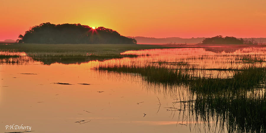 High Tide Sunrise Photograph