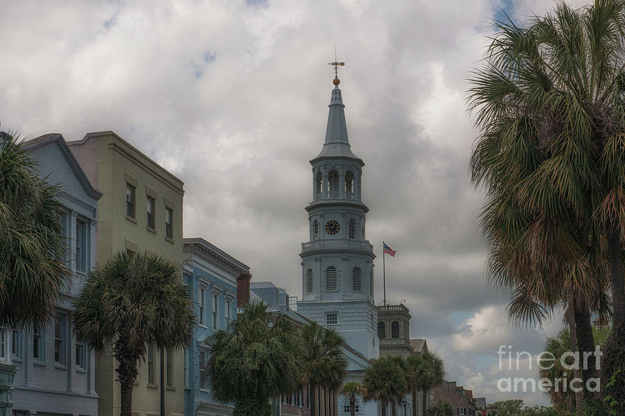 Historic Charleston Architecture Photograph