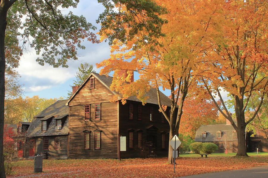 Historic Deerfield Fall Foliage Photograph
