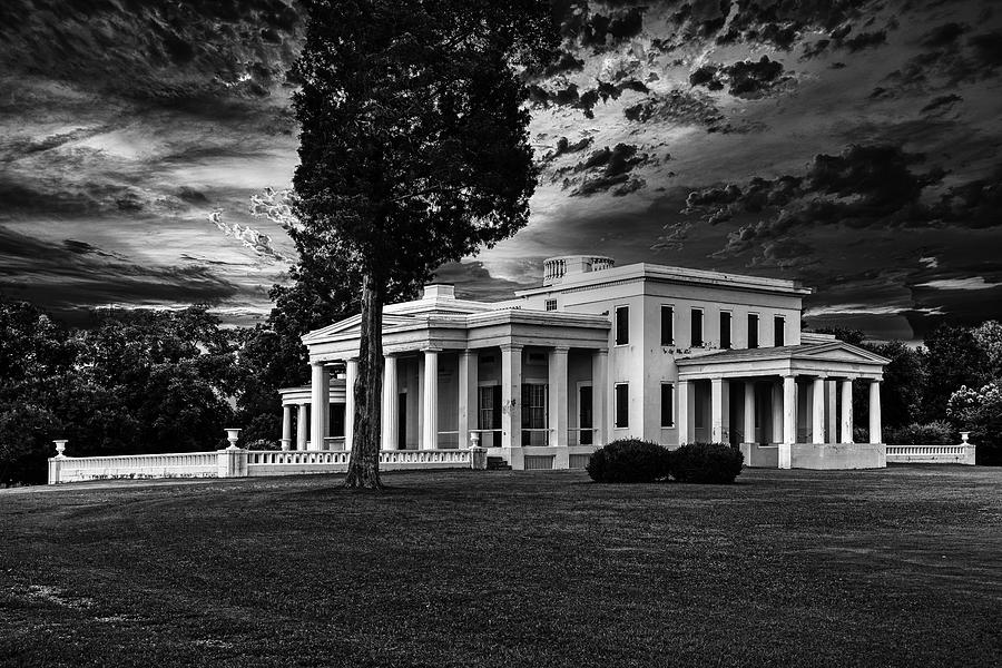 House Photograph - Historic Gaineswood Plantation House At Dusk 1 by Mountain Dreams