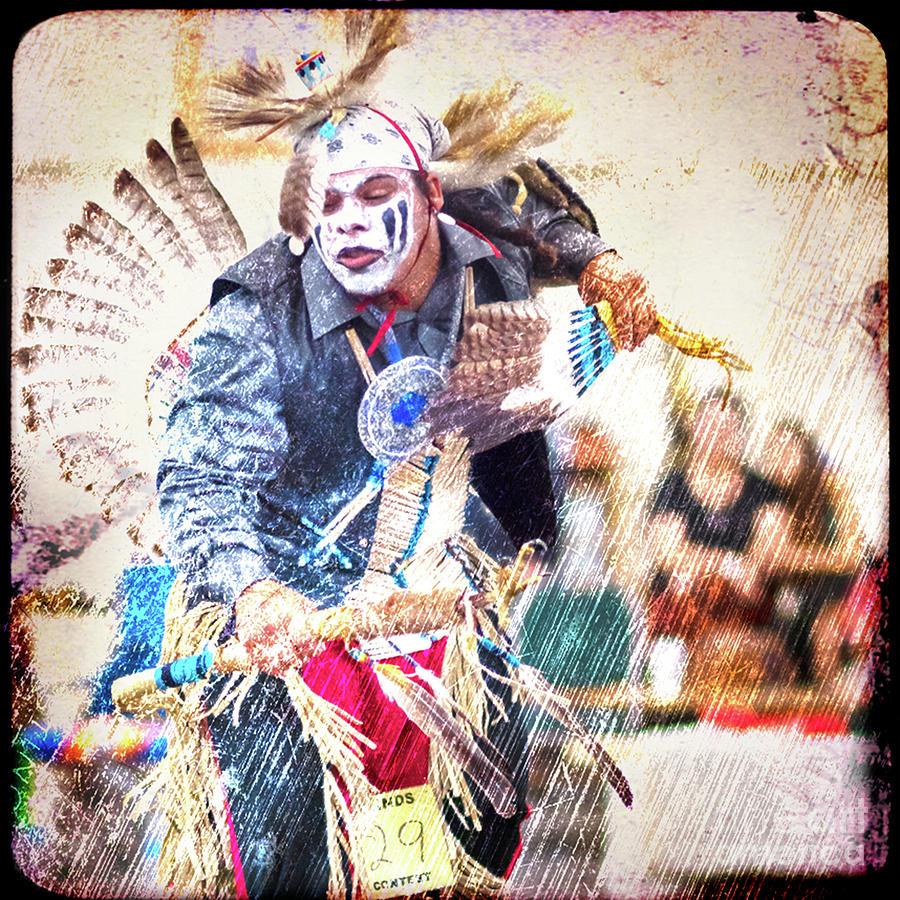 Hopi Snake Dancer Digital Art