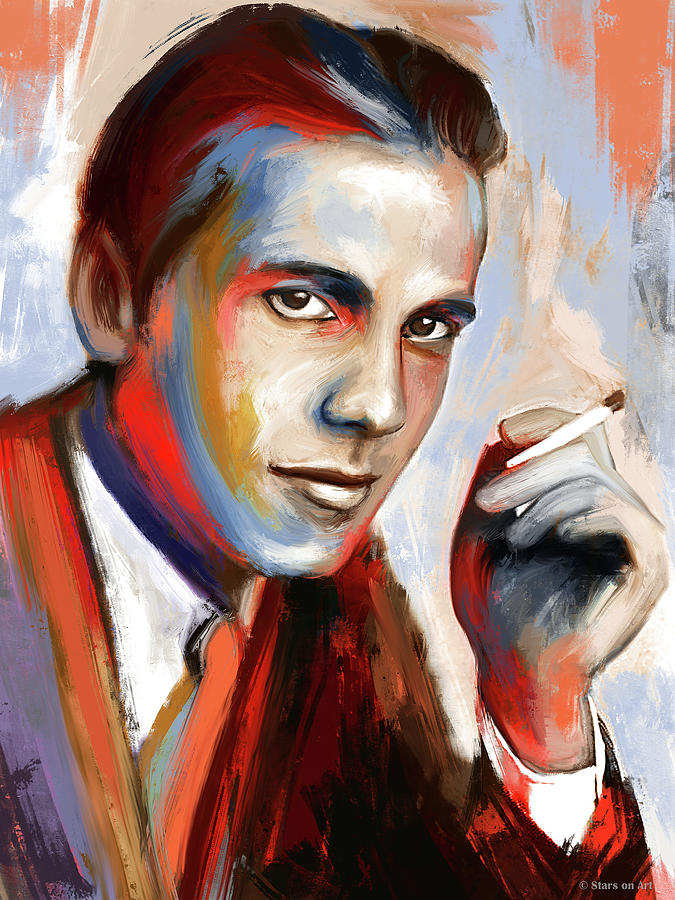 Humphrey Bogart by Stars on Art