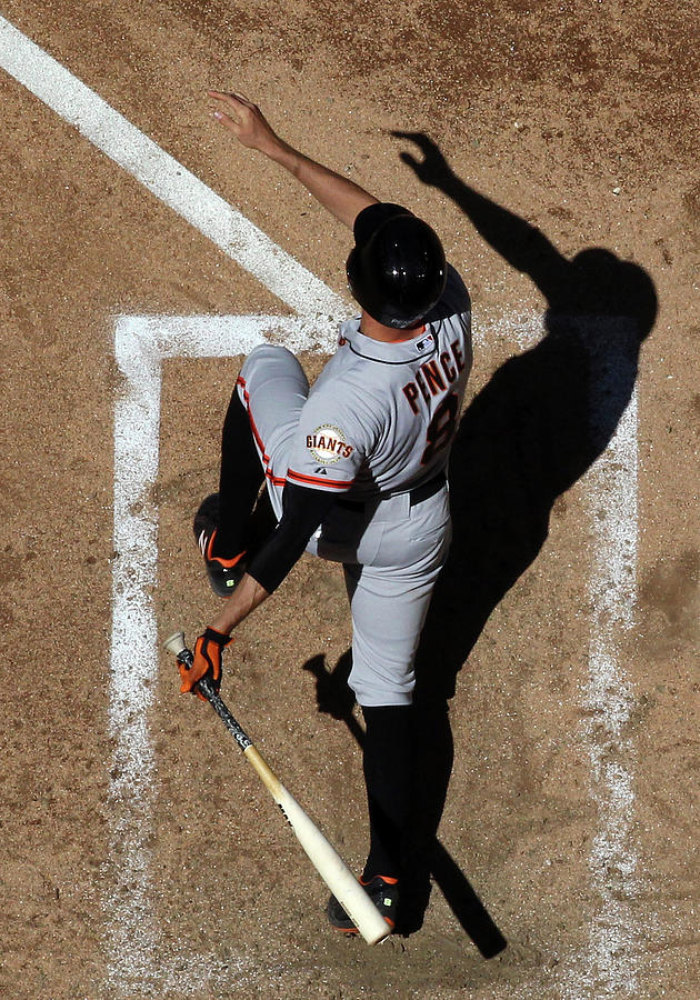 Hunter Pence Photograph by Christian Petersen