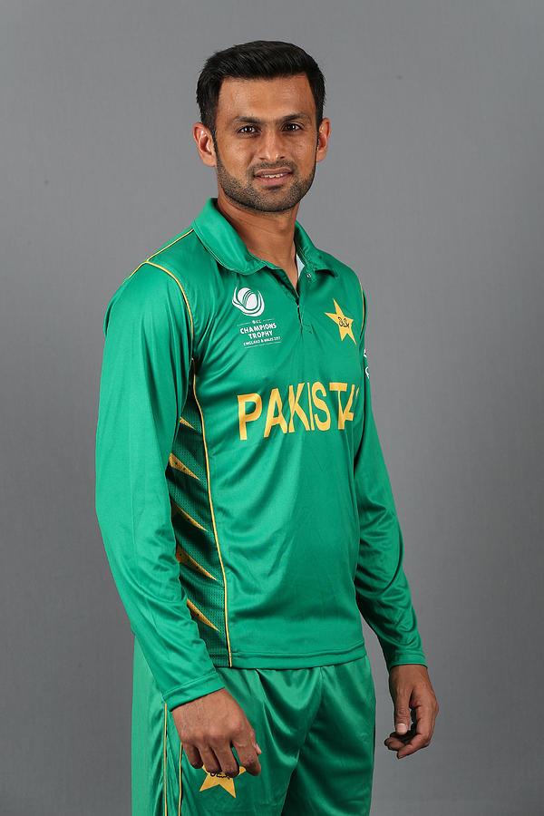 ICC Champions Trophy - Pakistan Portrait Session Photograph by Barrington Coombs-ICC