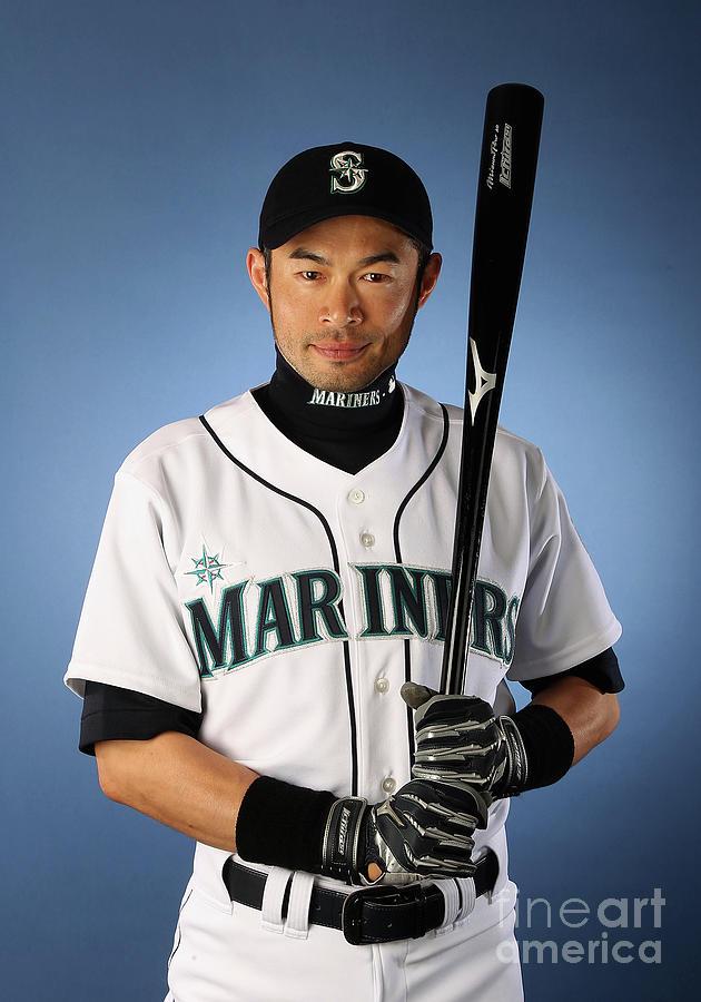 Ichiro Suzuki Photograph by Christian Petersen