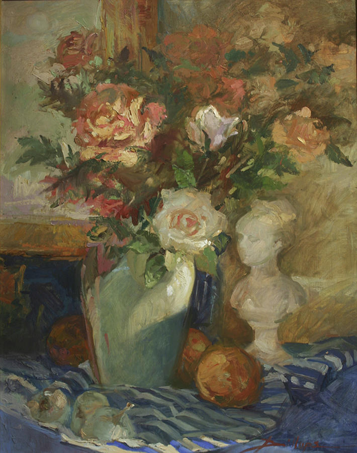 In the Shadows Painting by Betty Jean Billups