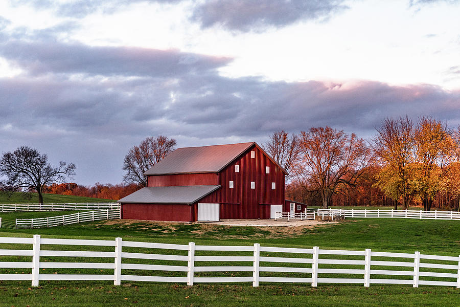 Landscape Photograph - Indiana Barn #166 by Scott Smith