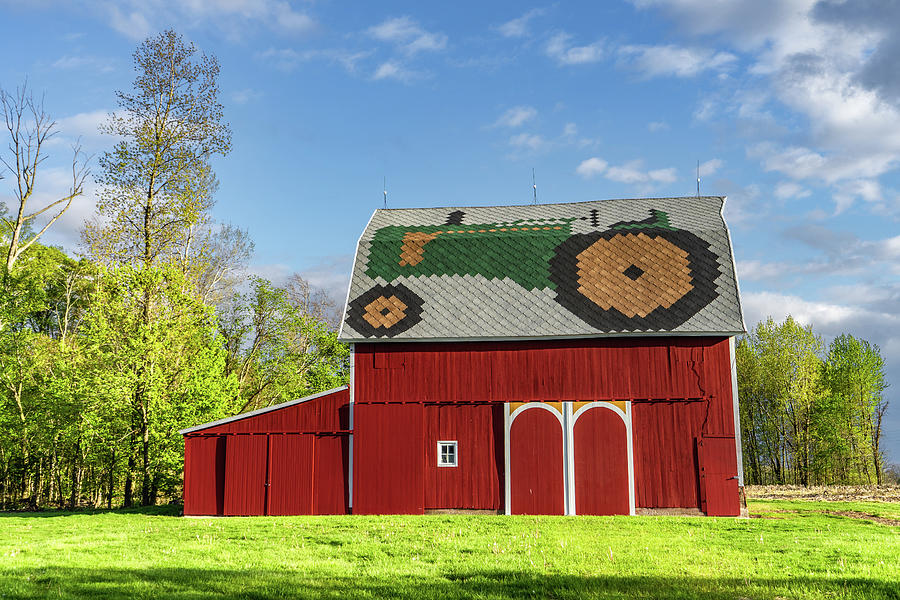 Landscape Photograph - Indiana Barn #229 by Scott Smith