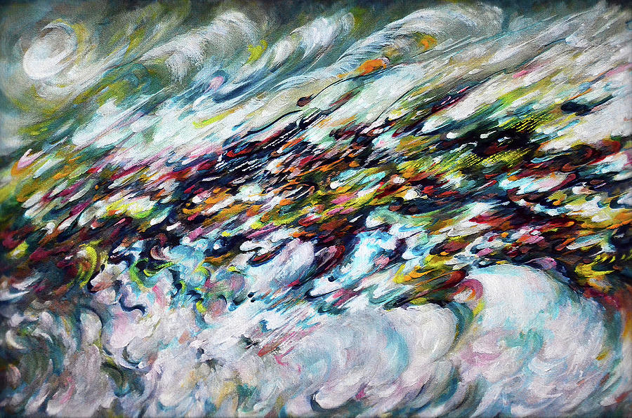 Cosmic Painting - Infinite Cosmos - 4 by Harsh Malik