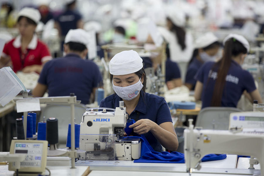 Inside The Vietnam-Singapore Industrial Park As Most Companies Affected By Anti-China Protests Resume Operations Photograph by Bloomberg