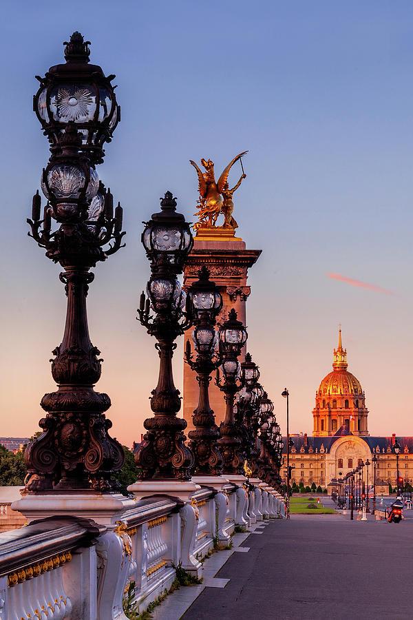 Invalides Paris by Andrew Soundarajan
