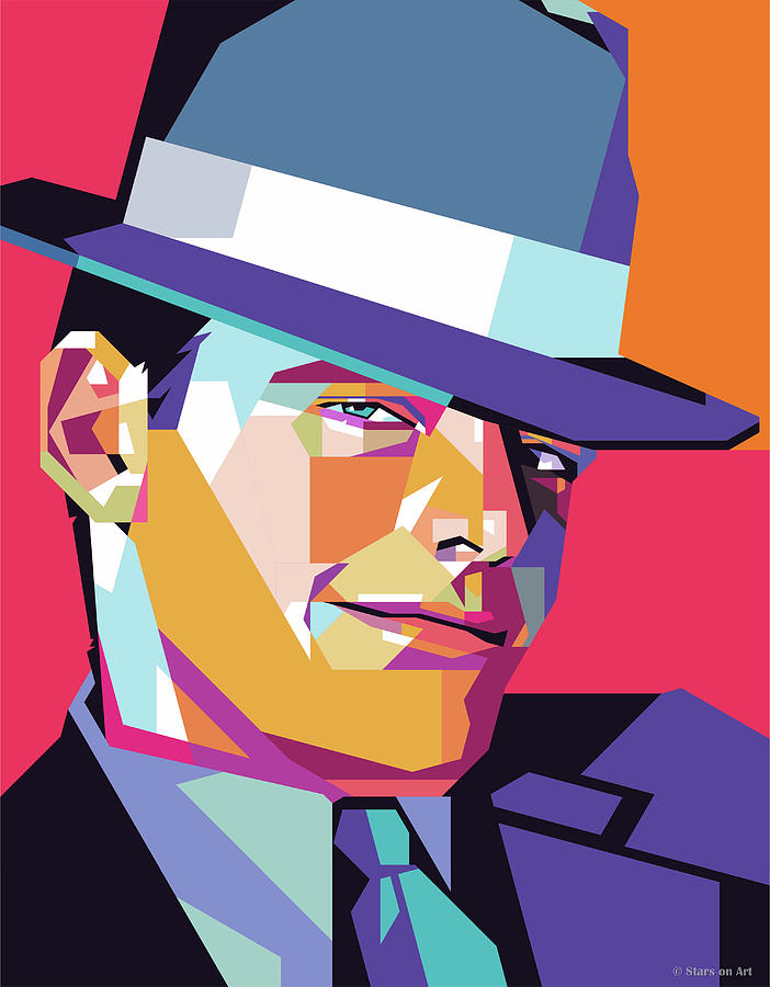 Jack Nicholson by Stars on Art