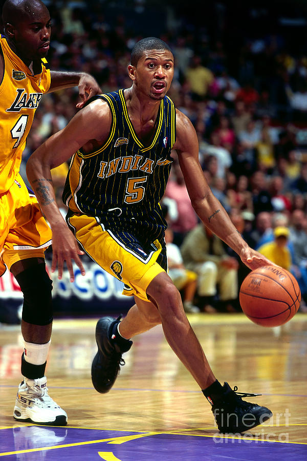 Jalen Rose Photograph by Andy Hayt