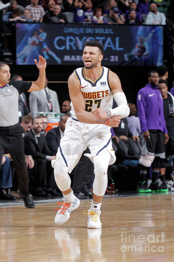Jamal Murray Photograph by Rocky Widner