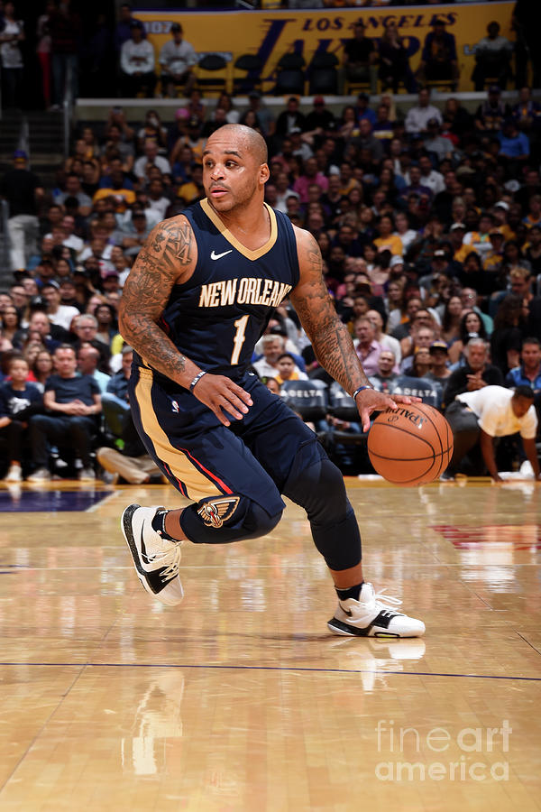Jameer Nelson Photograph by Andrew D. Bernstein