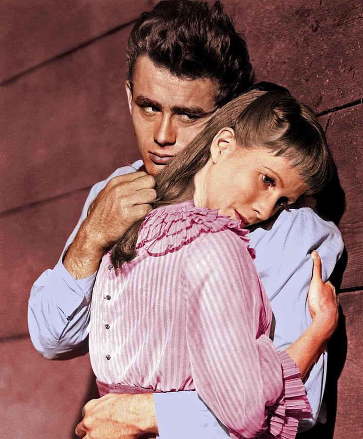 James Dean And Julie Harris Photograph