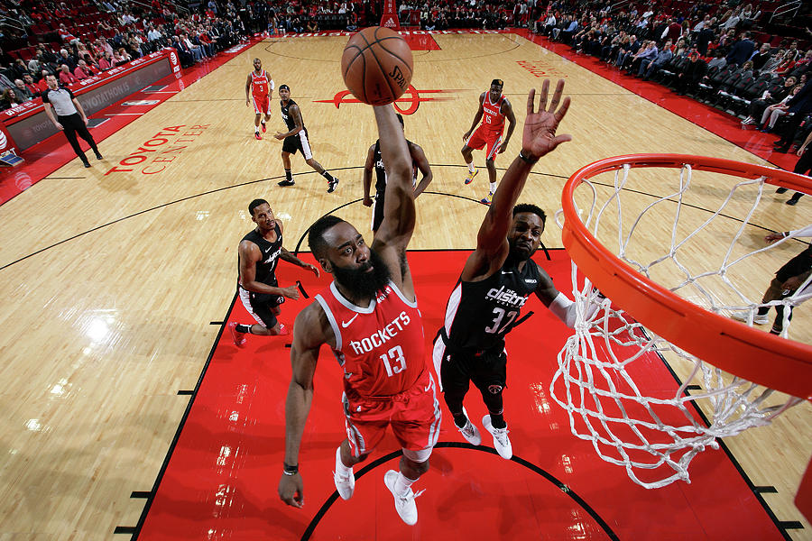 James Harden Photograph by Ned Dishman