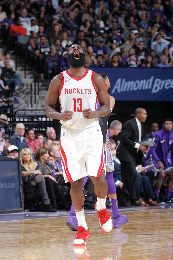James Harden Photograph by Rocky Widner