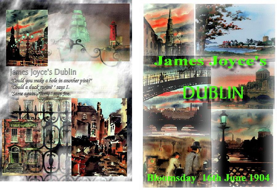 James Joyce,s Dublin by Val Byrne
