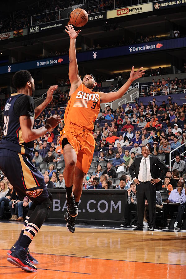 Jared Dudley Photograph by Barry Gossage