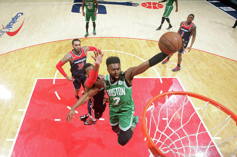 Jaylen Brown Photograph by Ned Dishman