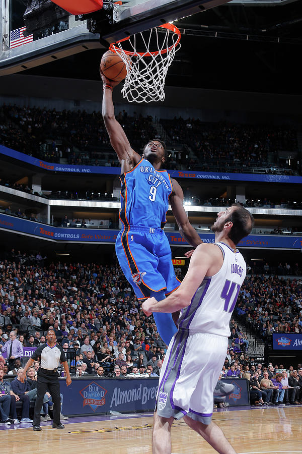 Jerami Grant Photograph by Rocky Widner