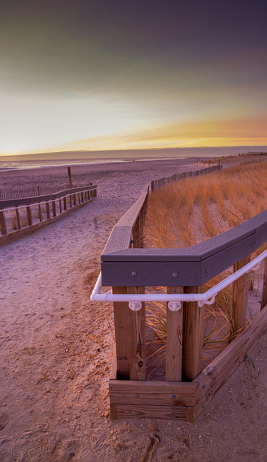 Jersey Shore Sunrise in late fall. by Kyle Lee