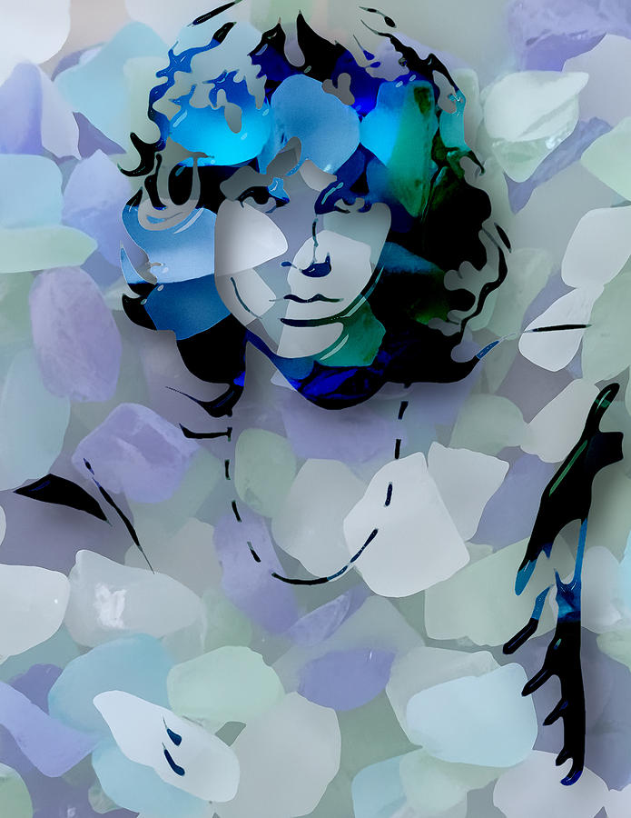 Jim Morrison of The Doors by Marvin Blaine