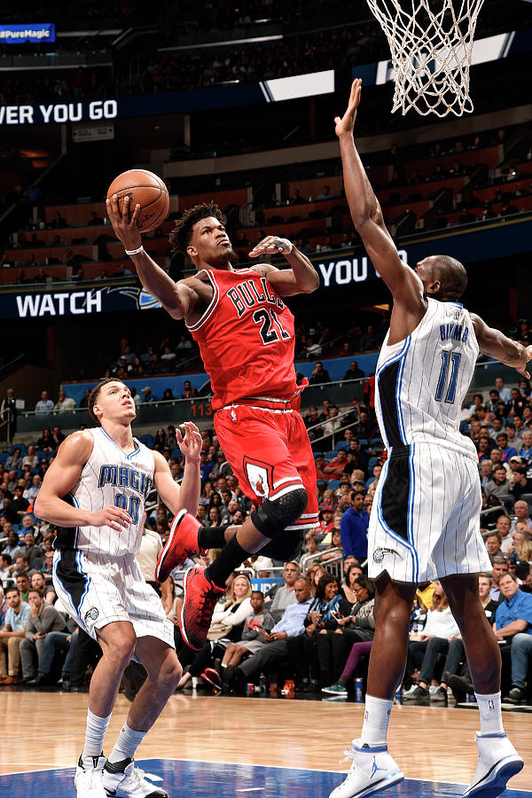 Jimmy Butler Photograph by Gary Bassing