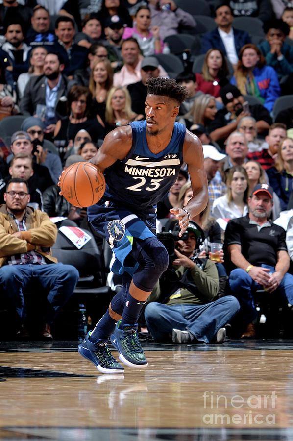 Jimmy Butler Photograph by Mark Sobhani
