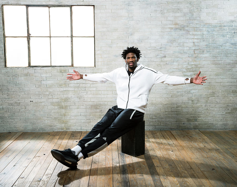 Joel Embiid Photograph by Nathaniel S. Butler