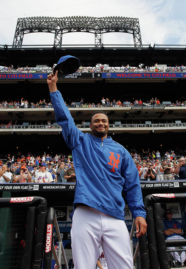 Johan Santana Photograph by Mike Stobe