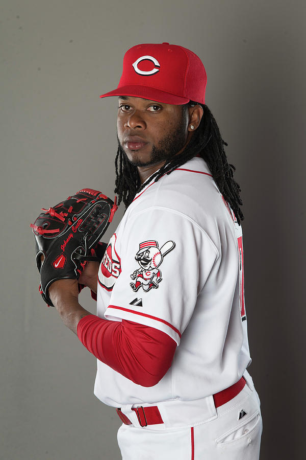 Johnny Cueto Photograph by Mike Mcginnis