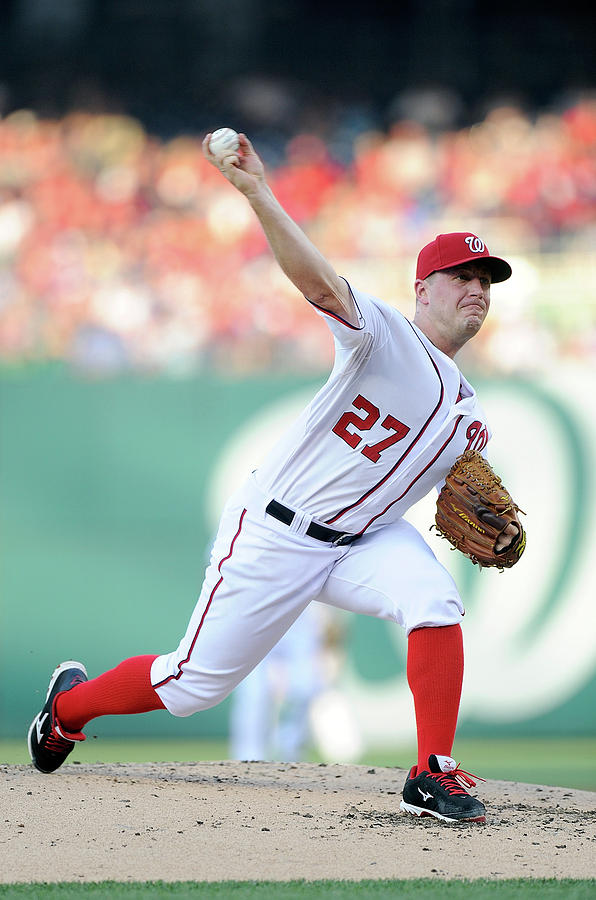 Jordan Zimmermann Photograph by Greg Fiume