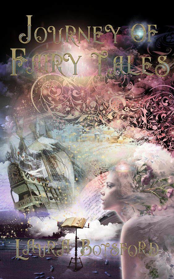 Magical Digital Art - Journey of Fairy Tales Poster by Laura Botsford